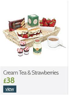 Cream Tea and Strawberries