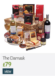 The Damask Hamper