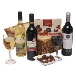 Wine & Chocolates hamper