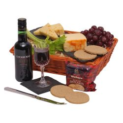 Port and Cheese Hamper