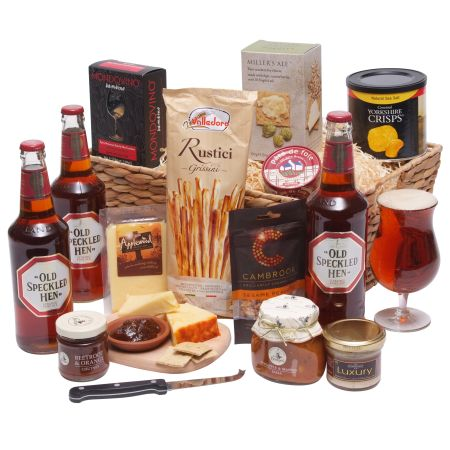 Gentlemans Ale Basket beer hamper