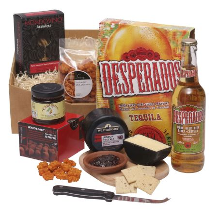 Hot n spicy hamper for Him