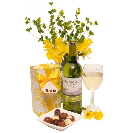 Wine and Chocolates gift