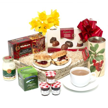 Mother's Day Cream Tea Tray Mother's Day Hamper