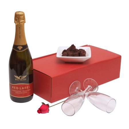 Bubbly & Flutes Valentines Day Hamper