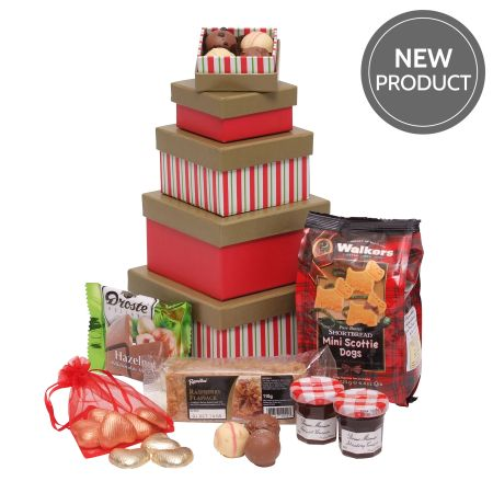 Mum's Tower Of Treats Mother's Day Hamper
